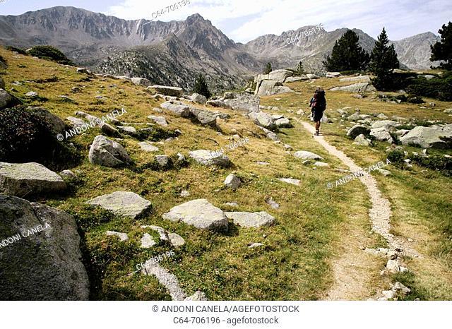 Valle de Madriu. Pyrenees. Andorra