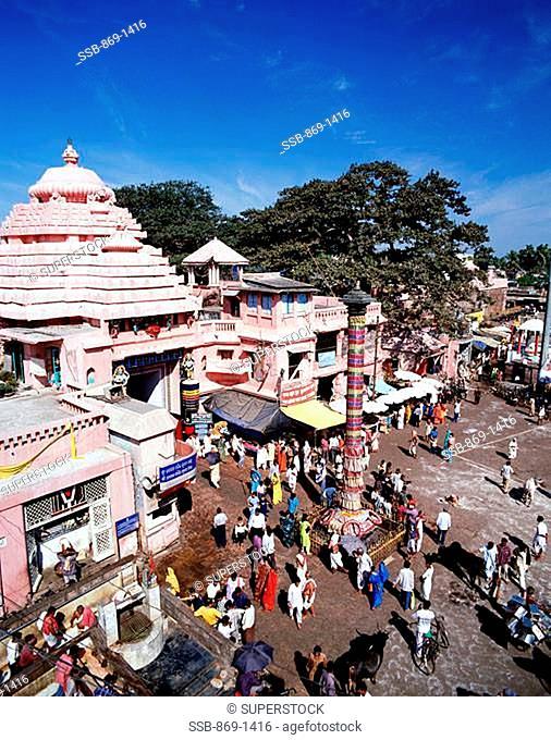 Jagannath Temple Puri Orissa, India