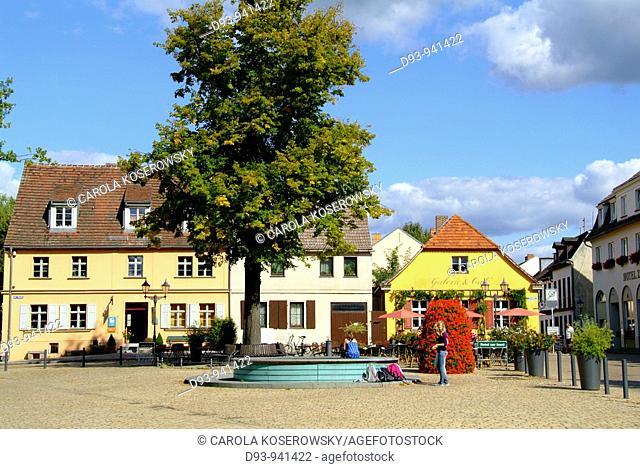 D, Europe, Germany, Brandenburg, Werder a.d. Havel, Old Town
