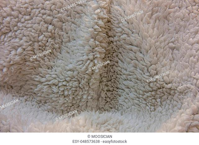 Close Up of Grey Knitwear Fabric. Texture, Background