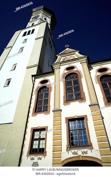 Church of the Monastery Ursberg, Franciscan St. Joseph Congregation, Ursberg, Bavaria, Germany