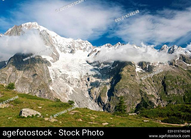 Mont Blanc massif, Courmayeur, It