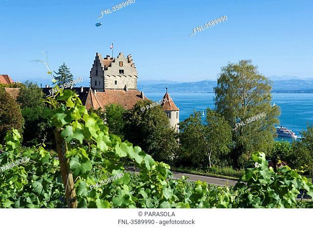 Castle, Meersburg, Baden-Wuerttemberg, Germany, Europe