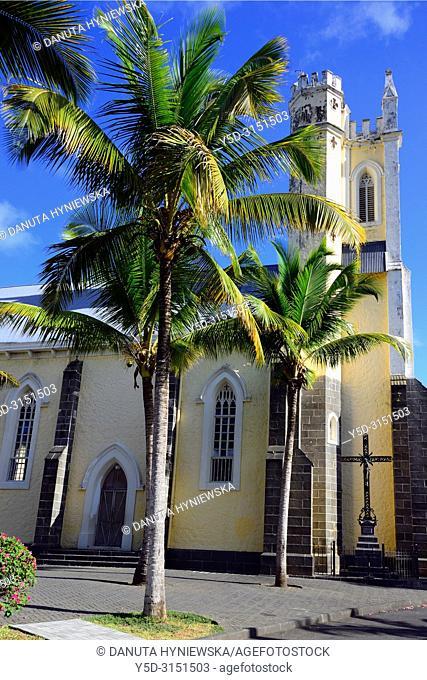 Notre Dame des Anges Church, Mahébourg, Grand Port district, southeastern coast of Mauritius, Mauritius, Mascarenhas, Mascarene Islands, Mascarene
