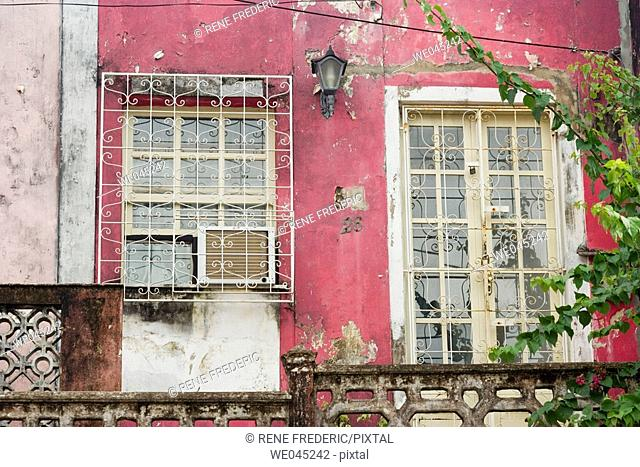 Carmo neighborhood,  Pelourinho area of Salvador da Bahia, considered by UNESCO to be the most important grouping of 17th & 18th Century Colonial Architecture...