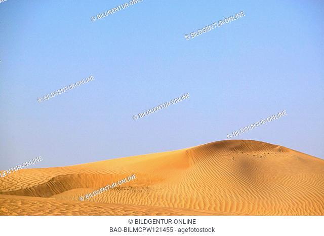 UAE desert close to Dubai