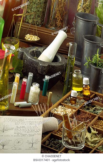 ALTERNATIVE MEDICINE<BR>Homeopathy. Phytotherapy. Essential oils