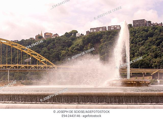 Point State Park Fountain, Pittsburgh