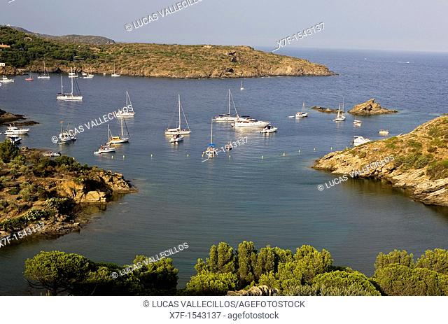 Guillola cove  Cap de Creus Natural Park Costa Brava  Girona province  Catalonia  Spain