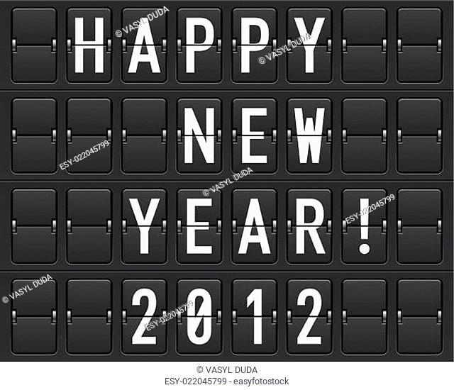Scoreboard Happy New Year