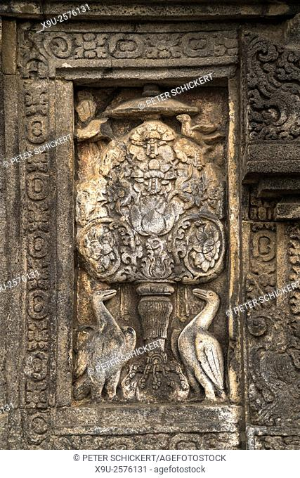 relief at the 9th-century Hindu temple compound Candi Prambanan in Central Java, Indonesia, Asia.