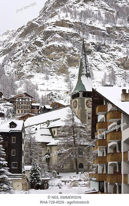 Zermatt, Switzerland, Europe
