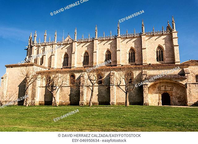 Cartuja de Miraflores monastery, Burgos, Castilla y Leon Spain