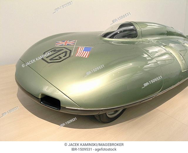 MG EX 181 from Stirling Moss, Mitomacchina exhibition, Museum of Modern Art, MART, Rovereto, Italy, Europe
