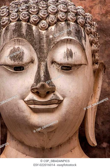 Buddha statue close-up photos,Wat Si Chum