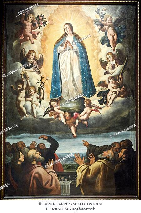 Assumption of Mary, 17th Century, Catedral de Jaca, Diocesan Museum, Museo Diocesano, Jaca, Huesca province, Aragón, Spain, Europe