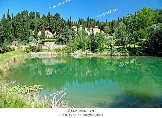 fantastic tuscan landscape