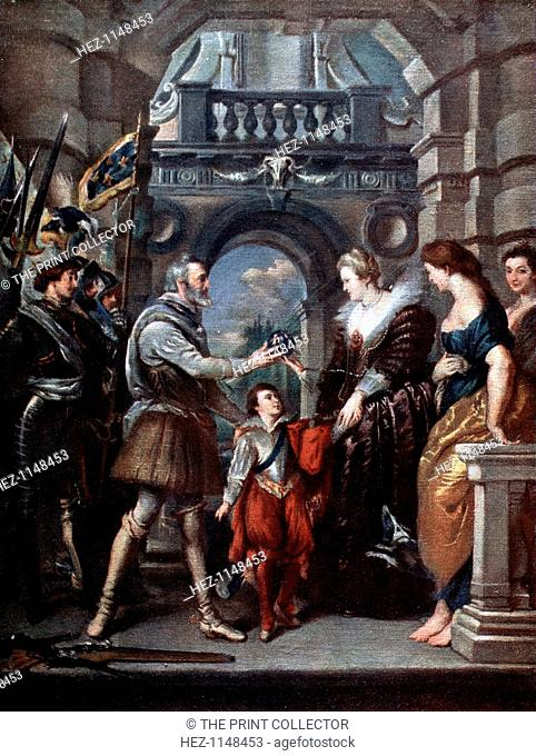 'The Medici Cycle: Henri IV leaving for the war in Germany, 20th March 1610', (1621-1625). Henri IV leaves for the war and bestows the government of his kingdom...