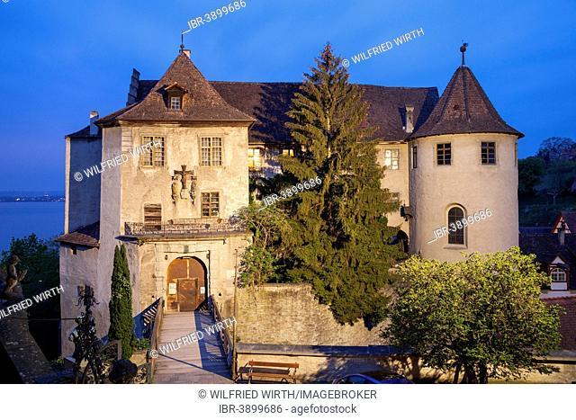 Burg Meersburg, also known as Alte Burg, Meersburg, Lake Constance, Baden-Württemberg, Germany