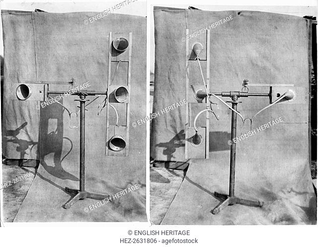 Air raid warning device, January 1918. Artist: Adolph Augustus Boucher