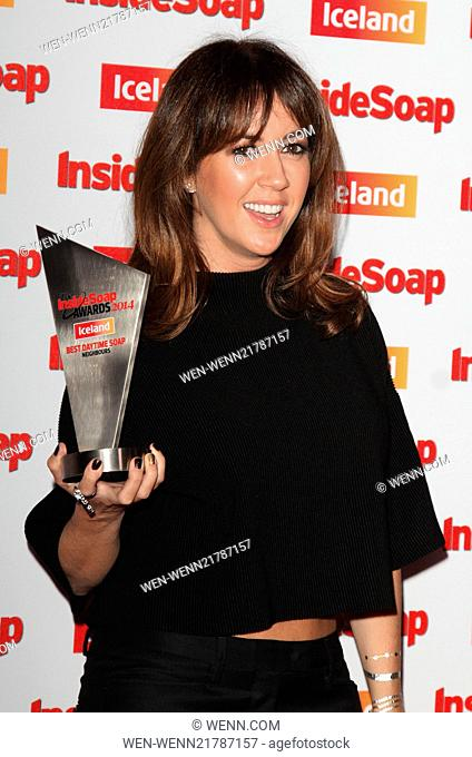 Inside Soap Awards 2014 held at the DSTRKT London - Arrivals Featuring: Sheree Murphy Where: London, United Kingdom When: 01 Oct 2014 Credit: WENN.com