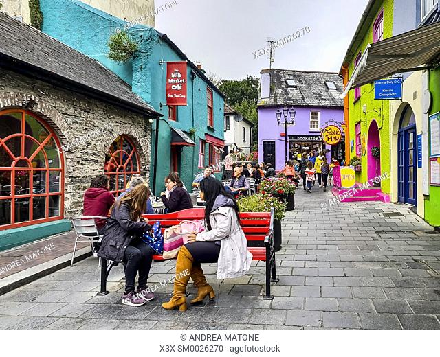 The town of Kinsale, Ireland, Europe