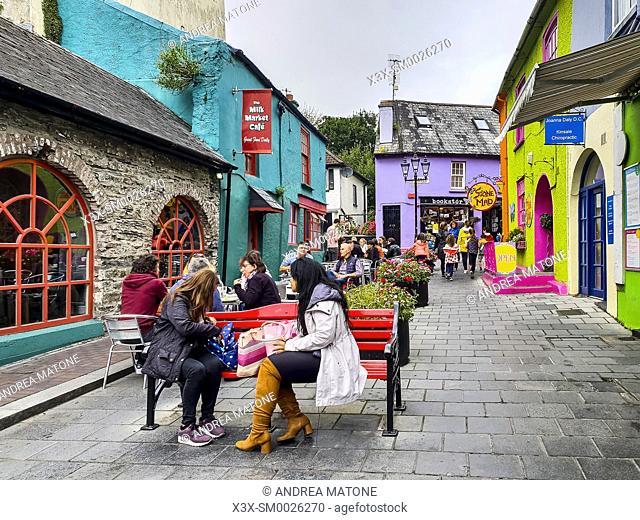 The town of Kinsale, Ireland, Europe