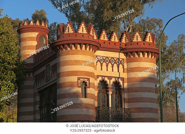 "Municipal Office of Tourism - building named """"Costurero de la Reina"""", Seville, Region of Andalusia, Spain, Europe"