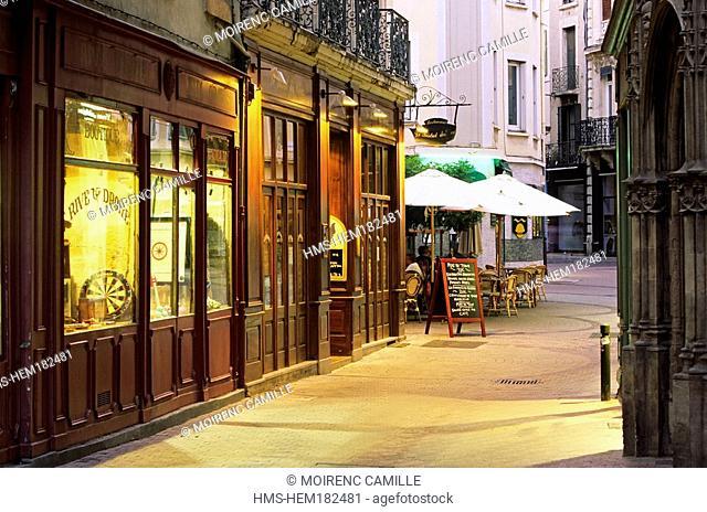 France, Drome, Valence, Grande rue, Bistrot des Clercs