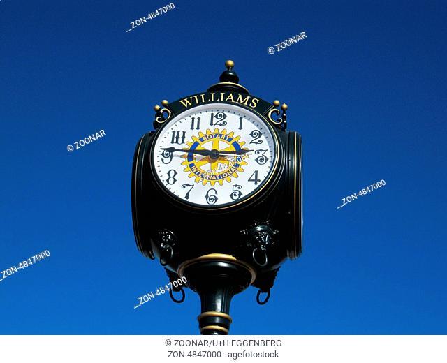 clock in williams
