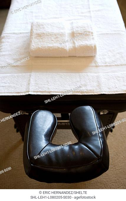 In home massage table