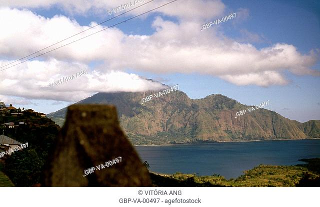 Kintamani Lake; Bali; Indonesia