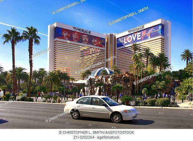 The Mirage hotel in Las Vegas, Nevada