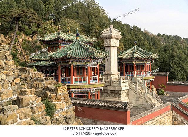 Zhuanlunzang Pavilion, Summer Palace, Beijing, China