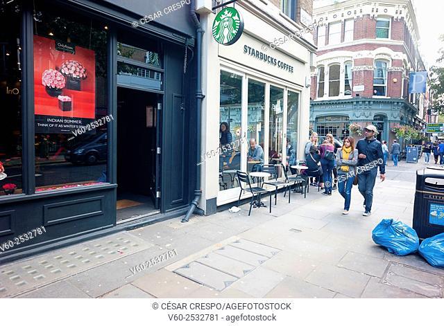 -Coffee Shops in Earl's Court Area- London United Kingdom
