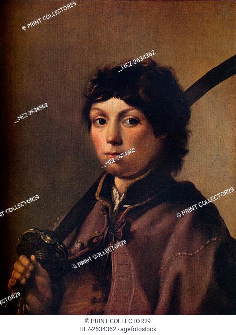 'Boy with a Sabre', c1640. Artist: Hendrik Gerritsz Pot