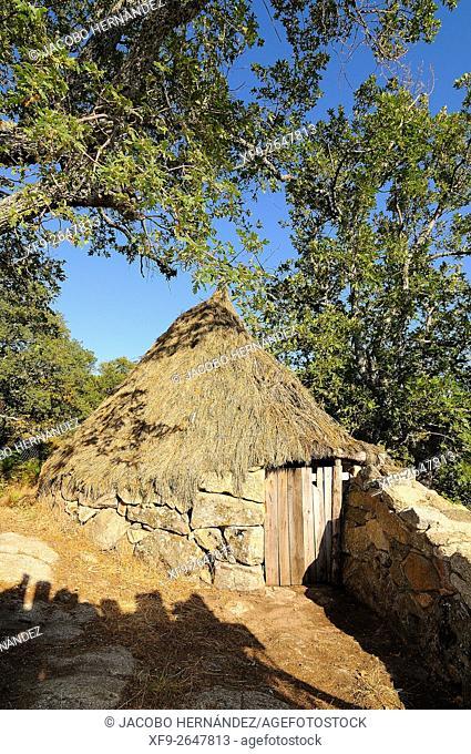Shepherds hut.Gredos moutains.Cáceres province.Extremadura.Spain