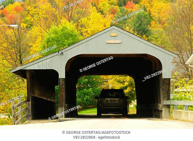 Village Covered Bridge, Waitsfield, Vermont