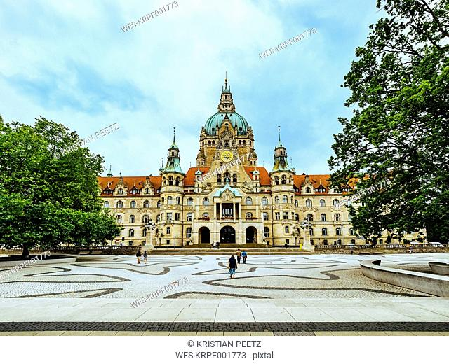Germany, Hanover, New town hall
