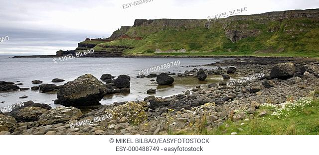 the 'Causeway Route' . County Antrim, Northern Ireland coast, Europe