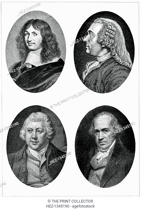 Four industrial reformers: Colbert, Turgot, Arkwright and Watt, (1903). Jean Baptiste Colbert, Anne Robert Jacques Turgot, Richard Arkwright and James Watt
