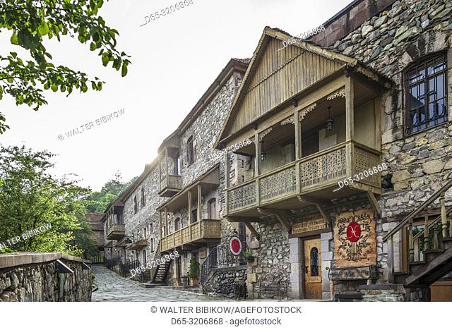 Armenia, Switzerland of Armenia area, Dilijan, Old Dilijan, buildings
