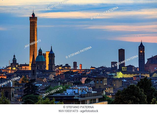 Old Town of Bologna, Emilia-Romagna, Italy