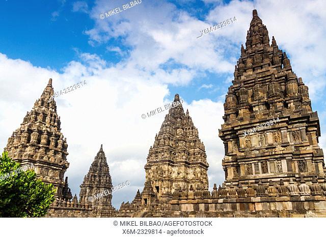 Prambanan Hindu temple. Central Java. Indonesia, Asia