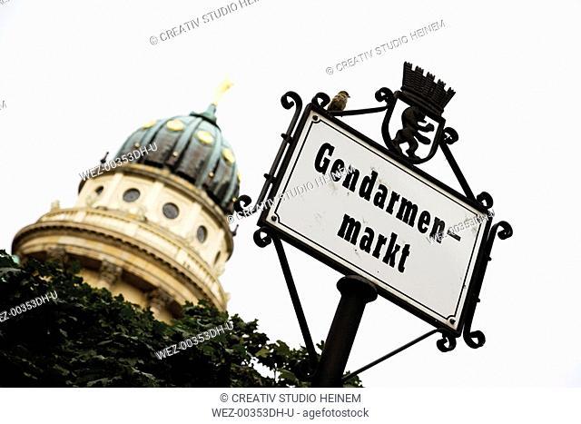 Germany, Berlin, Friedrichstadt, Gendarmenmarkt, Cathedral, close-up