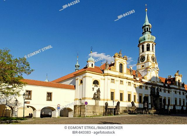 Loreta Church in Hradcany, the Castle District, UNESCO World Heritage Site, Prague, Czech Republic, Czechia, Europe