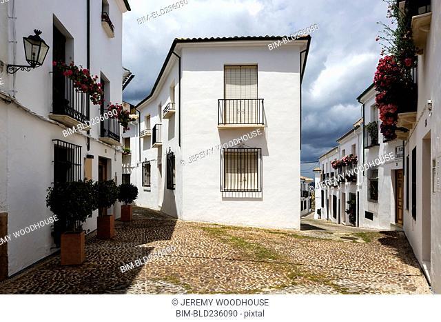 White buildings, Priego de Cordoba, Andalucia, Spain