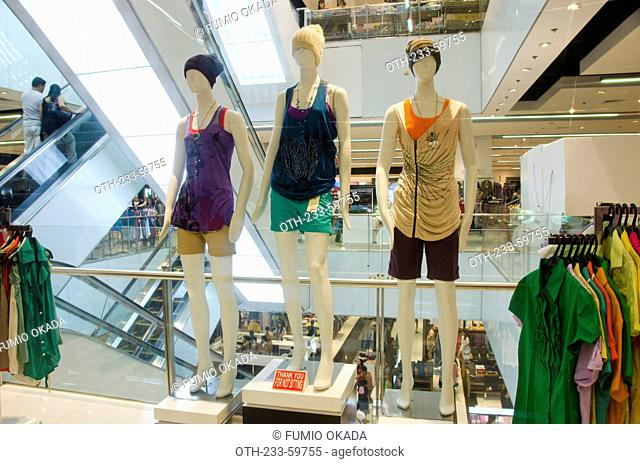 Casual wear boutique in the Landmark shopping mall, Makati, Philippines