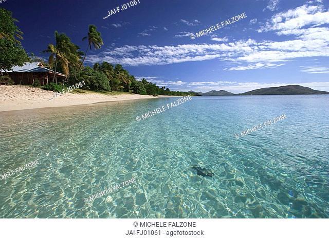 Oarsman's Bay and Beach, Nacula Island, Yasawa Chain, Fiji