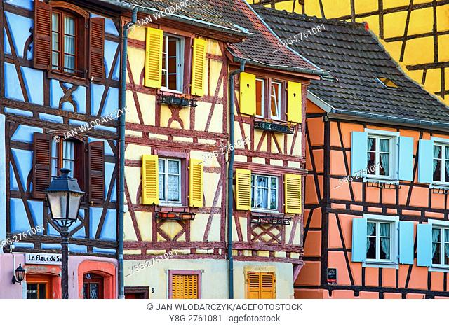 Half-timbered houses, Colmar, France
